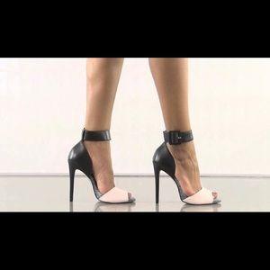 Aldo Areridda black white cream sandal